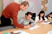 Englschkurs in der Sprachschule