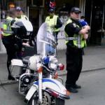 Polizei mit Harley Davidson