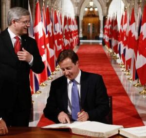 Harper und Cameron