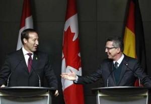 Treffen Kanada und Deutschland